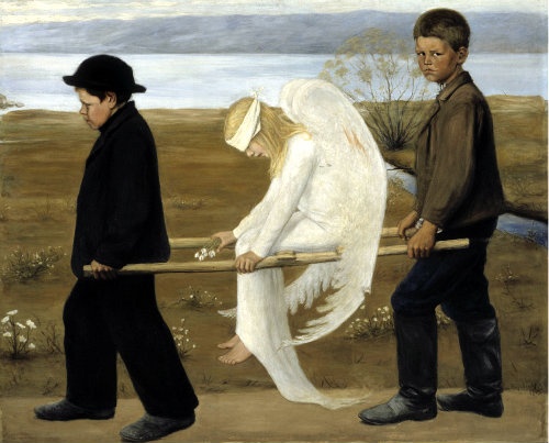 The Wounded Angel, Hugo Simberg