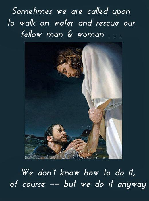 Jesus rescues