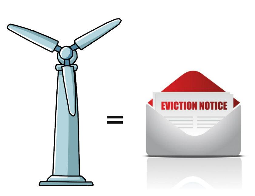 turbine eviction